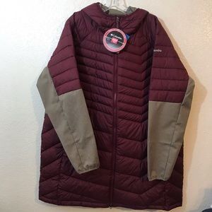 Columbia Oyanta trail hooded jacket SZ 3X